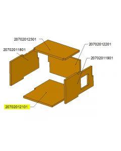 Dno komory ceramicznej TBL24 /17-0601