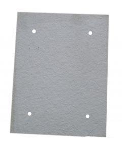 Izolacja 10mm drzwiczki 303x388 mm /04-110003