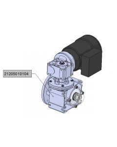 Motoreduktor 2,2