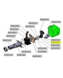 Motoreduktor SK1SI40F-IEC63-63L/4 EHB TW 14