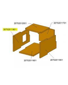 Bok palnika komory ceramicznej TBL16