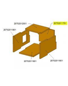 Tył komory ceramicznej TBL16