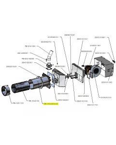 Zespół rury zewnętrznej PB 150kW-v02
