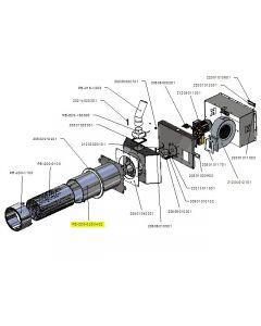 Zespół rury zewnętrznej PB 200kW-v02