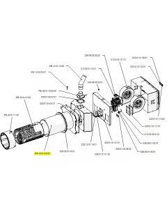 Zespół rury zewnętrznej PB 300kW