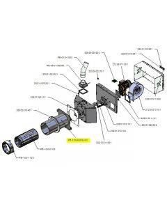 Zespół rury zewnętrznej PB 100kW-v03