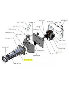 Zespół rury zewnętrznej PB 50kW-v03
