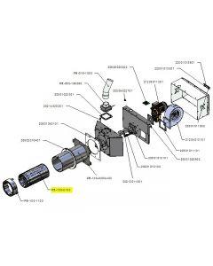 Zespół rusztu palnika PB 100kW