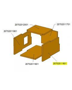 Bok zaślepki komory ceramicznej TBL16 /17-0303