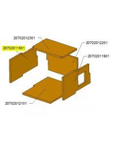 Ceramic chamber cap side TBL16 /17-0303