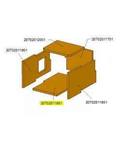 Ceramic chamber bottom cover TBL16 /17-0301