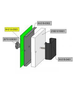 burner opening cap insulation