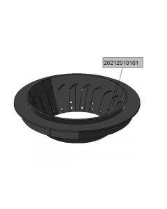 Steelburner end-plate