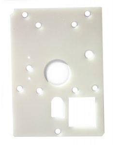silicone gasket, rear wall