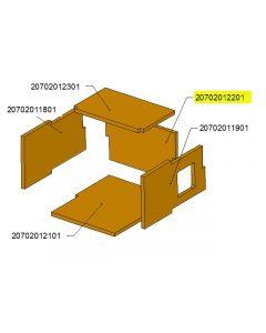 Tył komory ceramicznej TBL24 /17-0604
